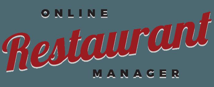 Online Restaurant Manager